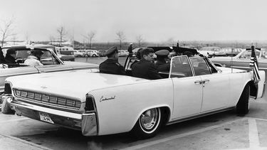 Lincoln Continental Convertible John F. Kennedy