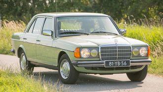 Mercedes-Benz 230 (W123) UW Garage