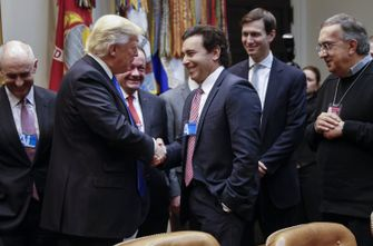 President Trump Meets With Key Automobile Industry Leaders