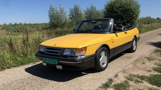 Peters Proefrit Saab 900