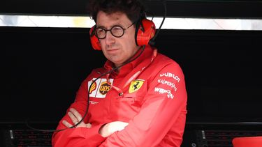 Mattia Binotto Scuderia Ferrari Formule 1