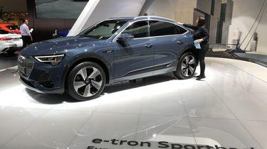 Audi E-tron Sportback Autosalon van Brussel