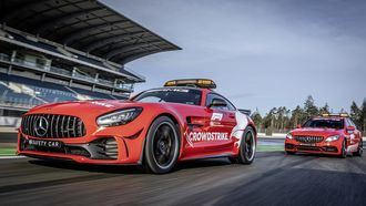 Mercedes-AMG FIA F1 Safety Car en Medical Car