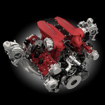 Ferrari 488 a motor autovisie.nl