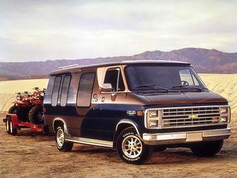 1987–90 Chevrolet G20 Chevy Van