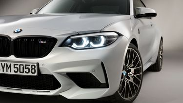 bmw m2 competition alpinweiss III front