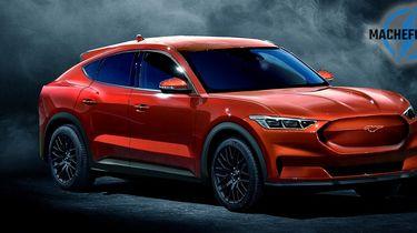 Ford Mach E Oranje