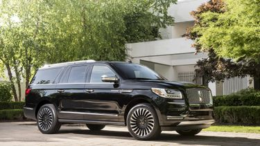 Lincoln Navigator Black LabelPhoto: James Lipman / jameslipman.com