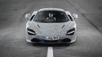 McLaren BP23 interior mule