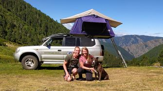 camper overbodig car camping