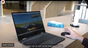 rijden met je computer
