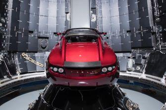 Tesla Roadster Musk