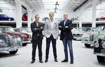 Hollandse BMW-helden: Frank van Meel Adrian van Hooydonk en Jos van As