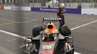 Formule 1 Azerbeidzjan Max Verstappen klapband 16x9