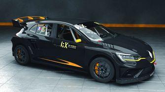 Renault Mégane voor WK rallycross