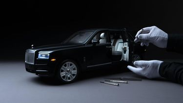 Rolls Royce Cullinam scale 1/8 4