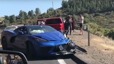Corvette Stingray Crash