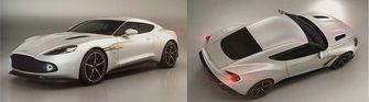 Aston Martin Vanquish Zagato white