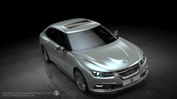Saab 9-3 Concept / Foto: Jason Castriota Design