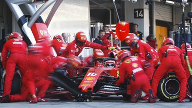 formule 1 pitstop