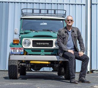 Toyota FJ40 Land Cruiser Tom Hanks