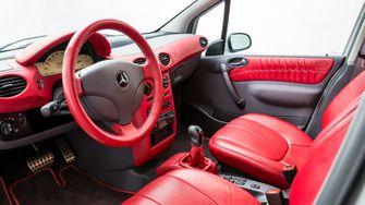 Mercedes A-klasse Häkkinen