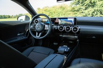 Mercedes interieur