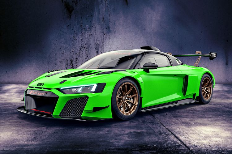 Audi R8 LMS GT2 Kyalami green