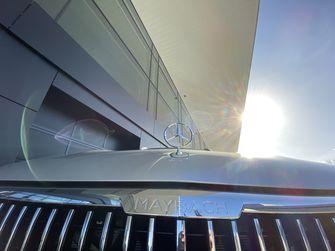 SW Mercedes Maybach GLS leeg