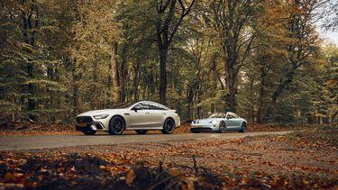 Porsche Taycan vs. Mercedes-AMG GT 63 S GT 4 Door