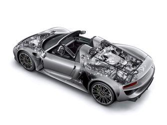 Porsche 918 Spyder a