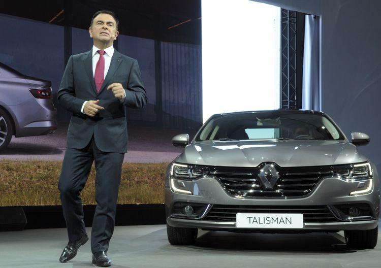Renault Nissan Mitsubishi-topman Carlos Ghosn