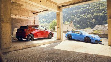 Toyota GR Yaris Porsche 911 GT3