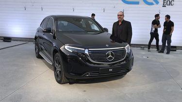 Mercedes-Benz EQC 2019 foto Autovisie 1