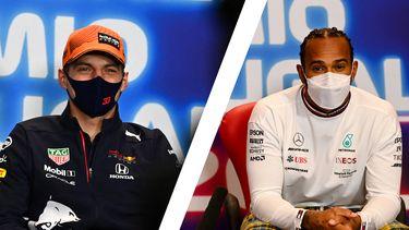 Max Verstappen Lewis Hamilton montage