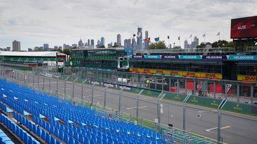 formule 1 Albert Park Circuit in Melbourne
