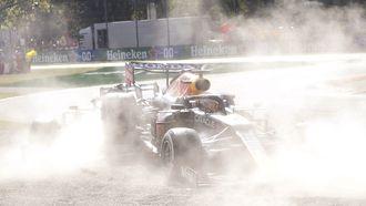 Max Verstappen crash botsing Monza 2021