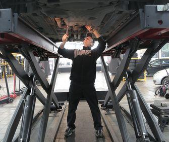 Onderhoud leaseauto