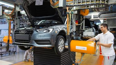 Audi fabriek