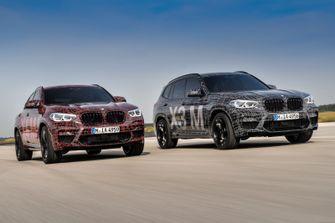 BMW X3 M en BMW X4 M Prototypes 1