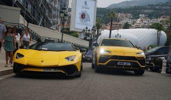 Lamborghini Aventador Urus Monaco