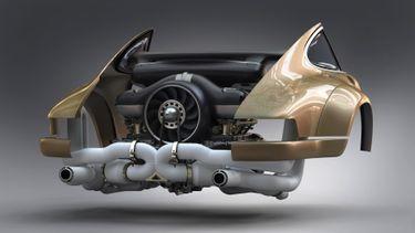 Singer Williams Porsche 911 boxermotor - Autovisie.nl
