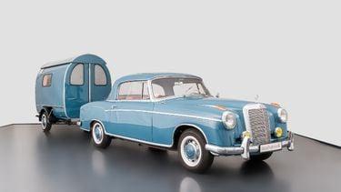 Mercedes, caravan, camper