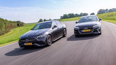 Mercedes C-Klasse vs.Audi