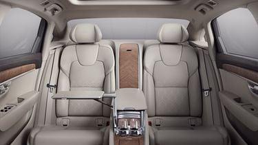 Volvo S90L Excellence interior rear