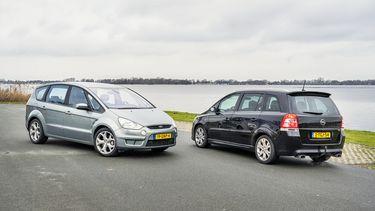 Opel Zafira OPC Ford S-Max 2.5-20V Turbo