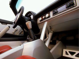 Speedster interieur