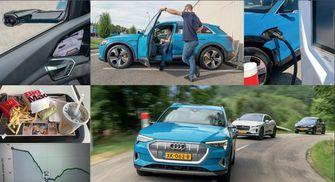 Audi e-Tron test