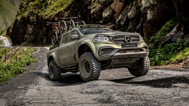Mercedes Benz X Klasse Powerful Adventurer