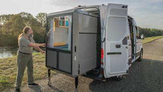 Camper, kit, bus,
